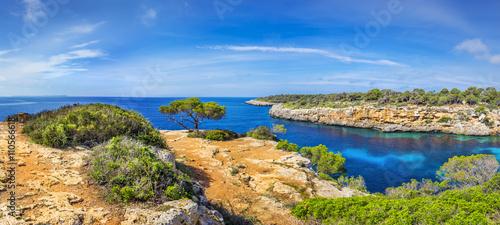 Famous cove of Cala Pi, Mallorca - 110566618