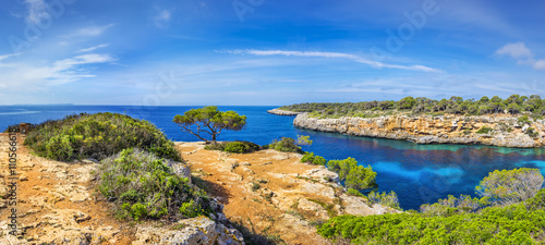 Słynna zatoczka Cala Pi na Majorce
