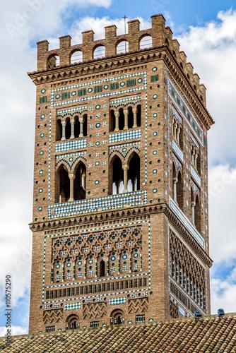 Mudejar tower of the Church of El Salvador, Teruel