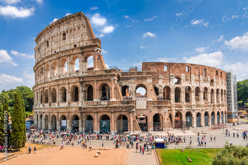 Colosseum, Rome,Italy Canvas Print