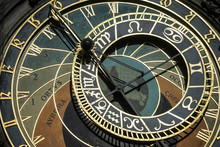 Astronomical Clock At The Old Town City Hall In Prague