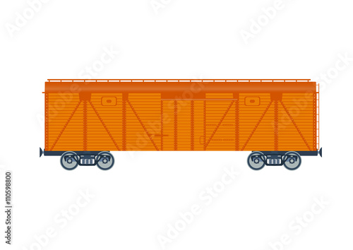 Fotografie, Obraz  Freight railroad car.