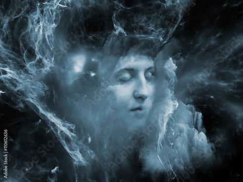 Fototapety, obrazy: Nebula of Self