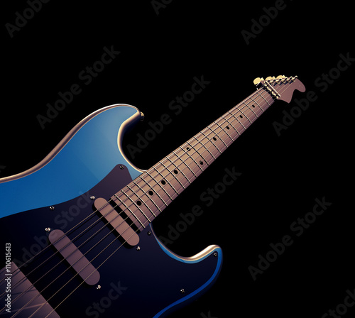 Close Up Blue Electric Guitar Guitar Musical Instrument And Backgrounds Buy This Stock Photo And Explore Similar Images At Adobe Stock Adobe Stock