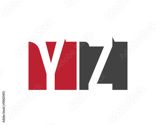 YZ Red Square Letter Logo For Zone Zero Zoo Zoological Zoom