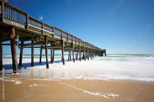 Fotografie, Obraz  Sandbridge Beach Fishing Pier, Virginia Beach, Virginia, USA