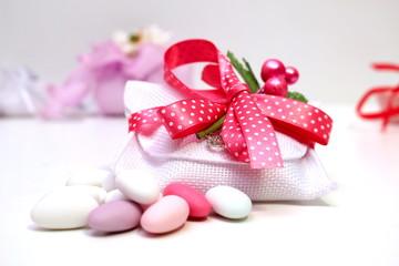 sacchetto confetti bomboniere