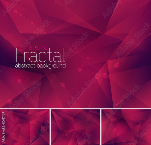 fractal abstract background Canvas-taulu
