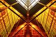 Leinwanddruck Bild - Abstract building background