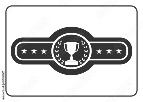 Fotografía  Champion belt icon