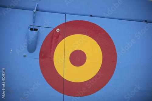 Fotografija  Emblema español en avión