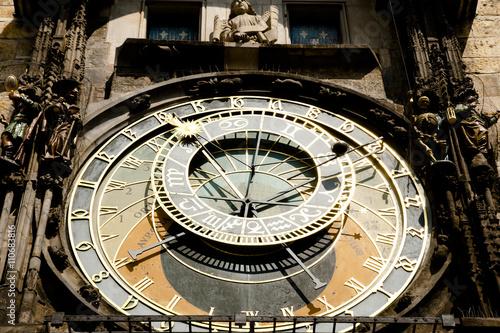 Astronomical Clock - Prague - Czech Republic Canvas Print