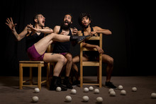 Comedy Show By Circus Jugglers