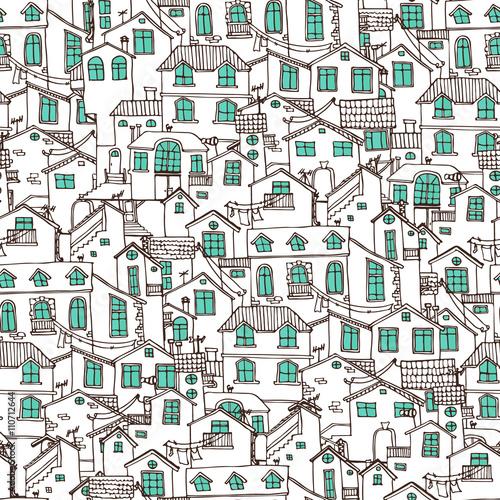 recznie-rysowane-tla-z-doodle-domow