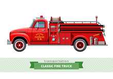 Classic Medium Duty Fire Truck...
