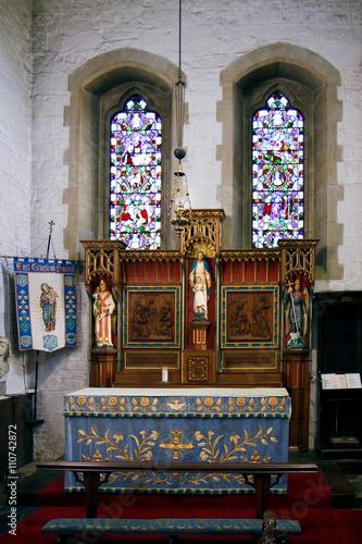 Fotografie, Obraz  Vnitřní pohled na část St Swithun je Kostel East Grinstead