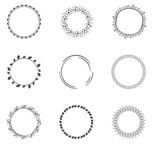 Round Decorative Circle Collection
