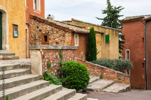 Fototapety, obrazy: Village of Roussillon in the Provence