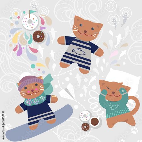 bezszwowy-wzor-z-slicznymi-kotami
