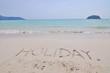 holiday at Phuket in Thailand.