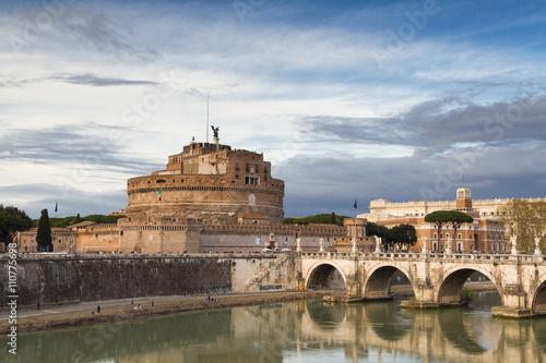 Ancient roman Castel Sant'Angelo - 110775698