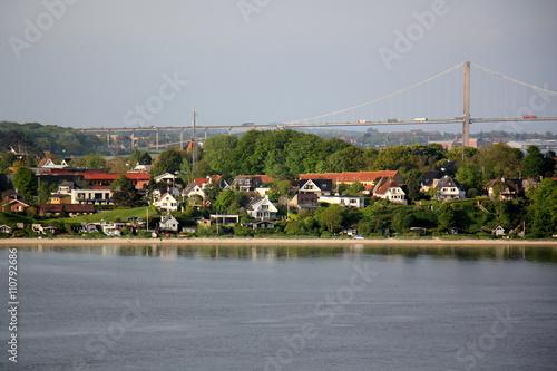 Keuken foto achterwand Kanaal Фредери́сия — город и порт в Дании