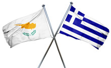 Cyprus Flag  Combined With Gre...