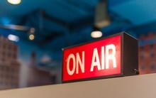Studio, Live, Broadcast, On Air.