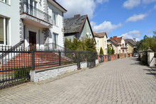The Cottage Settlement In Kaliningrad