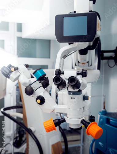Ophthalmic equipment  Medical - Buy this stock photo and