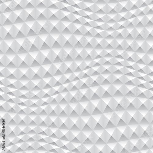 Zdjęcie XXL Abstrakta 3d tła biała geometryczna tapeta