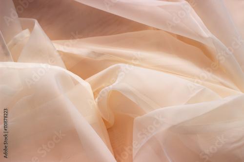 Fototapeta  Chiffon textile texture
