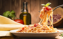 Spaghetti With Amatriciana Sau...
