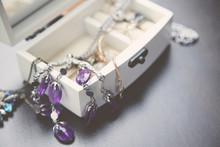 Necklaces, Bracelet And Boxes