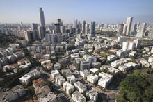 Aerial View Of Moshe Aviv Towe...