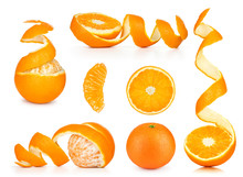 Collection Of Orange, Slice An...
