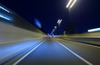 Car driving on Metropolitan Expressway in Tokyo