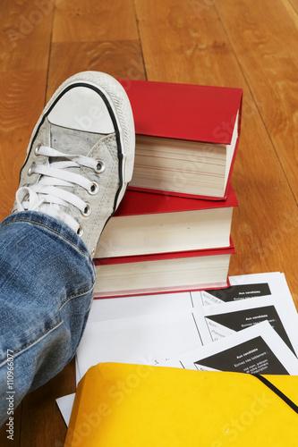 Foto  Universitätsprüfungen und Revisionszeit