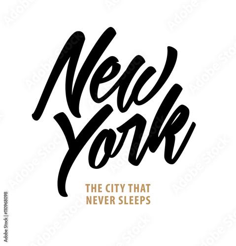 New York. The City that Never Sleeps. Canvas Print