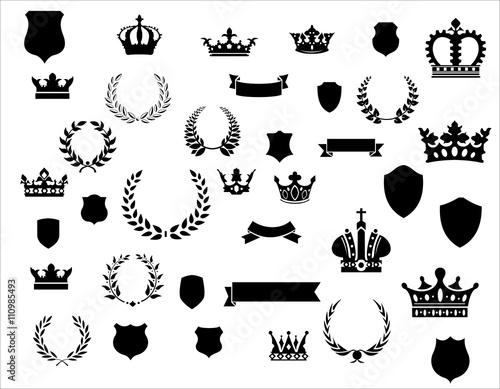 Fotografía Grundelemente für Wappen und Urkunden