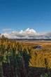 Tetons in Fall From Snake River Overlook