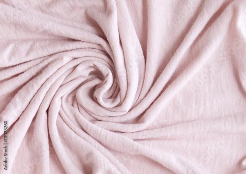 Montage in der Fensternische Stoff Pink Fabric