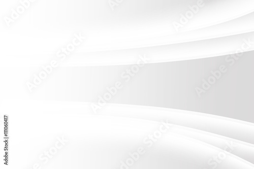 Photo  abstract gradient gray background with gradient white curve