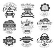 Mechanic Workshop Vintage Stamp Collection