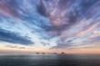 Ilhas Cagarras Islands in the Horizon of the Ocean by Sunset, Rio de Janeiro