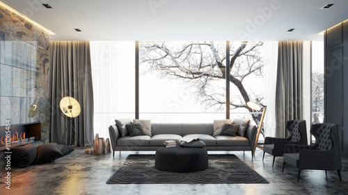 Photographie  Living room