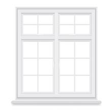 Traditional White Window Isola...