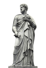 Statue A Sculpture Of A Man Wi...