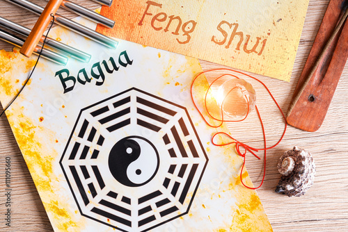 Fotografía  Concept image of Feng Shui