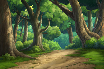 background for jungle and natural